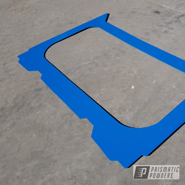 Powder Coating: Automotive,RAL 5017 Traffic Blue,Polaris,RZR