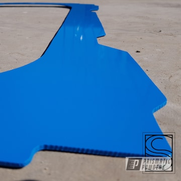 Powder Coated Blue Polaris Rzr Part