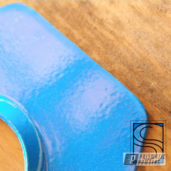 Powder Coated Light Blue Miscellaneous Parts