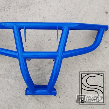 Powder Coated Blue Polaris Rzr Bumper
