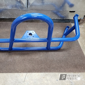 Powder Coated Blue Jeep Parts