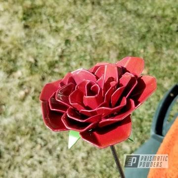 Powder Coated Metal Flower