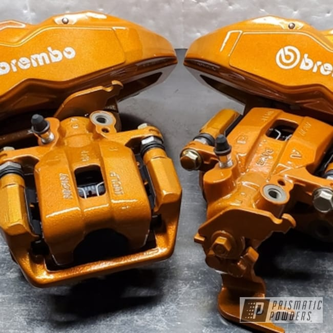 Powder Coated Brembo Brake Calipers