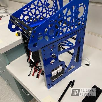 Powder Coated Blue Robotics Parts