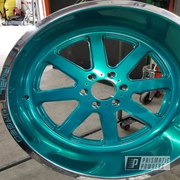 Powder Coated Fuel Forged Wheels In Upb-1848