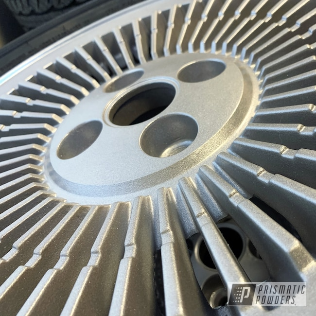Powder Coating: Wheels,Automotive,DMC,DeLorean,Aluminium Rims,Back to the Future,SILVER METALLIC II PMB-0513
