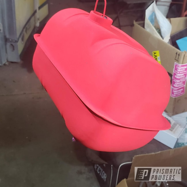 Powder Coating: Automotive,Scooter,Astatic Red PSS-1738,Refinish