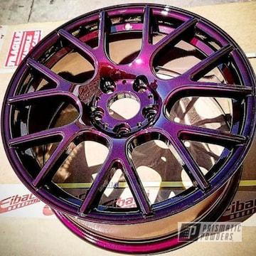 Powder Coated Malbec Custom Rim