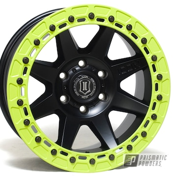 Powder Coated Two Tone Beadlock Rims