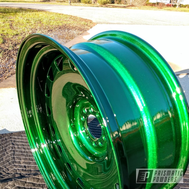 "Powder Coating: Wheels,Automotive,Clear Vision PPS-2974,Illusion Gambler PMB-6916,20"",Detroit Steel 20"""