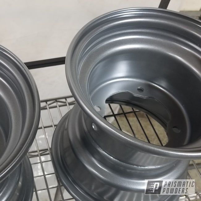 Powder Coating: Wheels,Automotive,Spectacular Grey PMB-5624,ATV Wheels