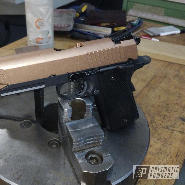 Powder Coating: Airsoft,FORGED CHARCOAL UMB-6578,Copper Jacket PMB-2562,Black,Copper,Gun,Casper Clear PPS-4005,Clear