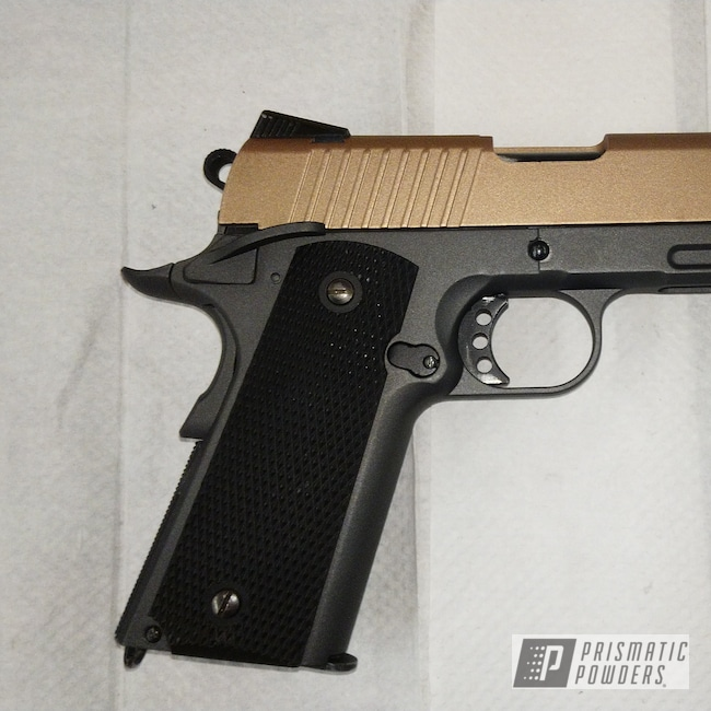 Powder Coating: Airsoft,FORGED CHARCOAL UMB-6578,Copper Jacket PMB-2562,Black,Copper,Gun,Casper Clear PPS-4005,Clear