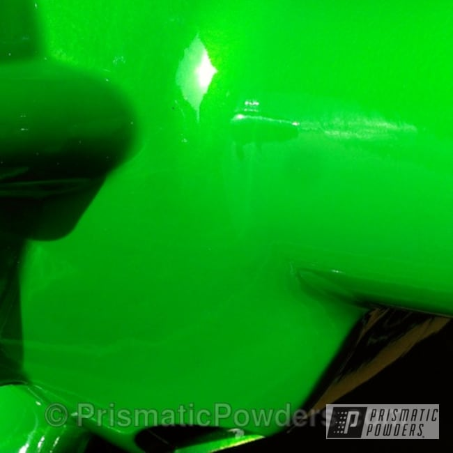 Powder Coating: Custom,SUPER CHROME USS-4482,chrome,powder coating,powder coated,Prismatic Powders,Custom 2 Coats,green,Lollypop Lime PPS-5628,Gsxr wheels