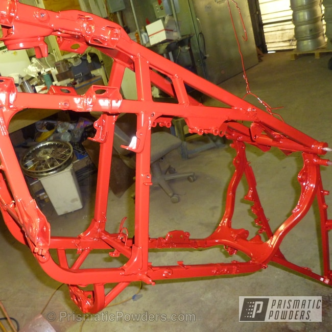 Powder Coating: Clear Vision PPS-2974,SUPER CHROME USS-4482,chrome,Off-Road,York Red PSB-5329