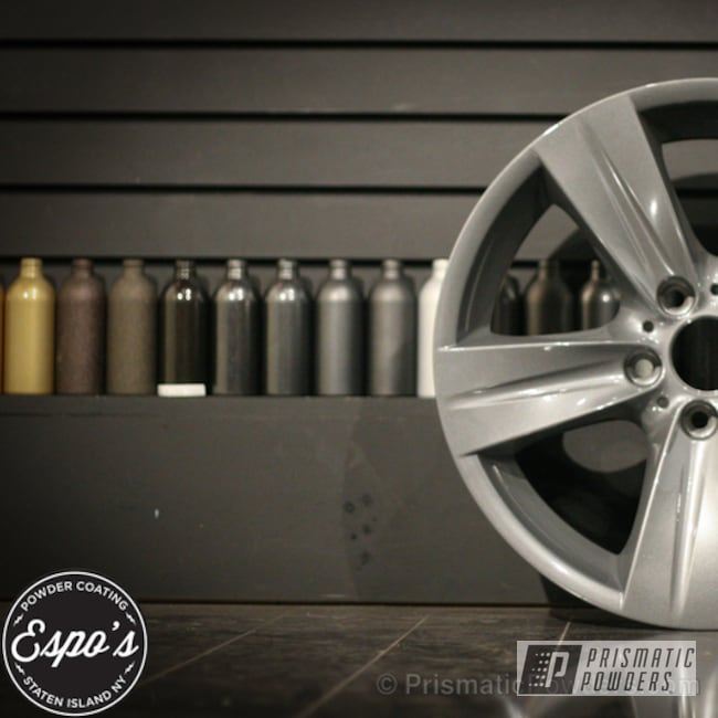 Powder Coating: Wheels,Clear Vision PPS-2974,Galaxy Grey III PMB-2862,powder coated wheels prismatic