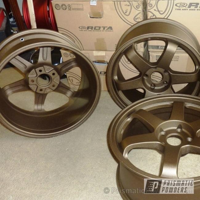 Powder Coating: Wheels,Oil Rubbed Bronze Light PCB-4333,Rota GRID