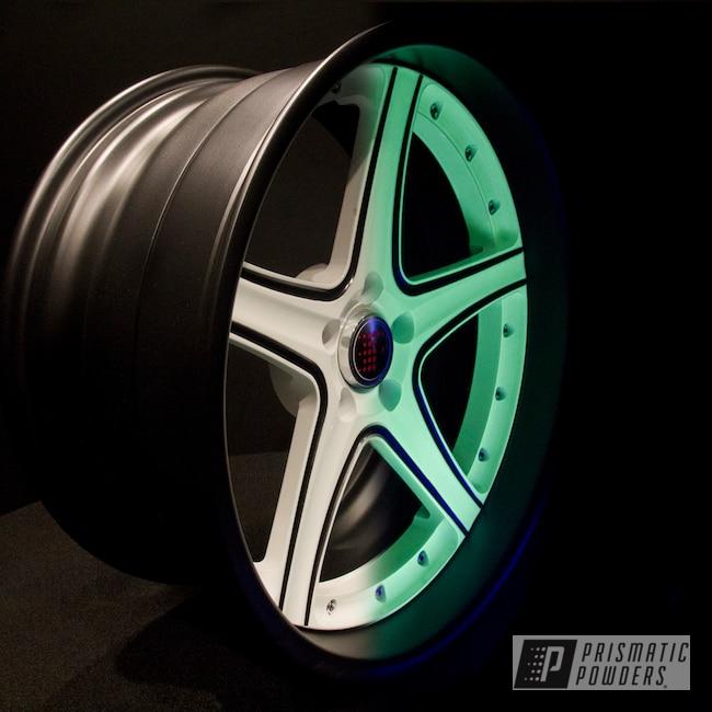 Powder Coating: Wheels,Glowing Wheels,Glowbee Clear PPB-4617