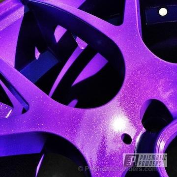 Sinbad Purple With Chameleon Violet Top Coat