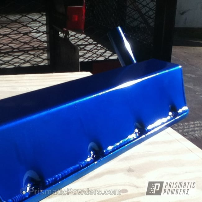 Powder Coating: Custom,Automotive,Clear Vision PPS-2974,SUPER CHROME USS-4482,chrome,blue,ANODIZED BLUE UPB-1394,powder coating,Engine Components,powder coated,Prismatic Powders,racing boat engine