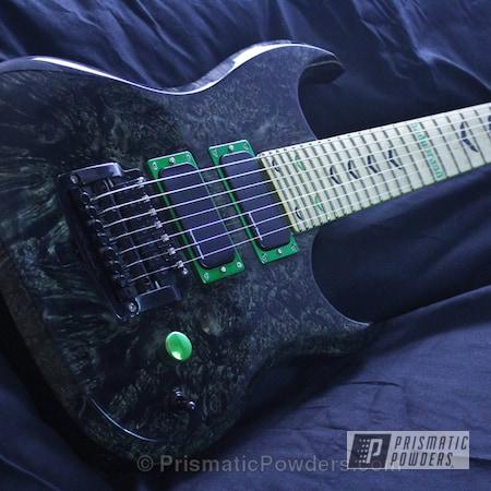 Powder Coating: Custom Hadubrand Guitar,7-String,Art,Rancher Green PPB-6935,Miscellaneous