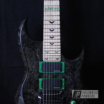 Electric Guitar Parts In Rancher Green