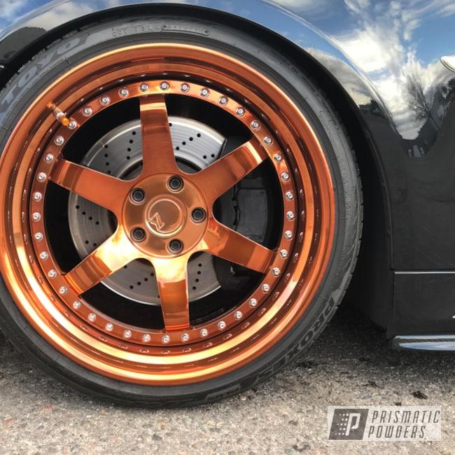 Powder Coating: Wheels,Automotive,Transparent Copper PPS-5162