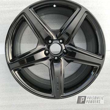 Powder Coated Black Custom Amg Rim