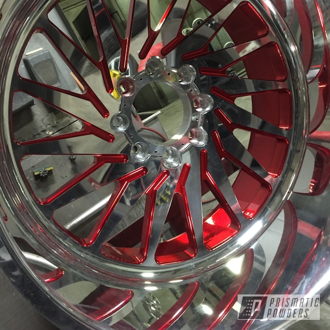 Powder Coating: Wheels,Automotive,LOLLYPOP RED UPS-1506,lollypopred,Candy