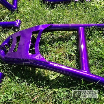 Super Chrome With Candy Purple Top Coat