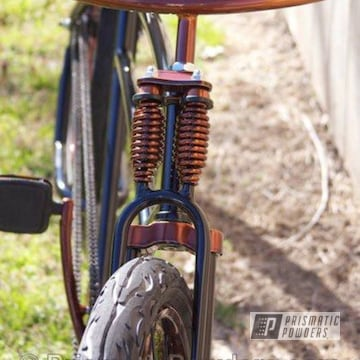 Bicycle Parts Coated In Transparent Copper