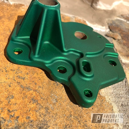 Powder Coating: Automotive,Illusion Money PMB-6917,ATV,Transfer Case,UTV,side by side,liftkit,Polaris,RZR,SXS,Casper Clear PPS-4005