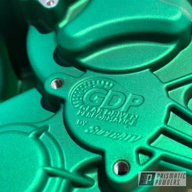 Powder Coated Green Polaris Rzr Atv Parts