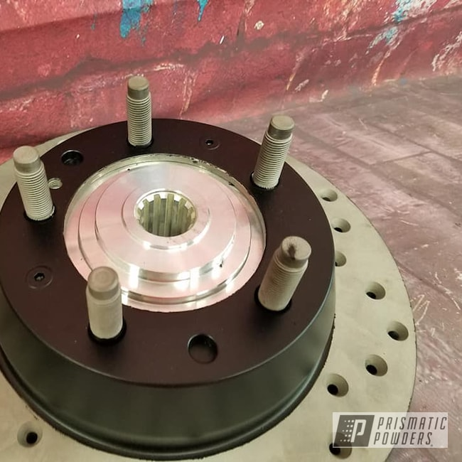 Powder Coating: Automotive,Suspension Parts,BLACK JACK USS-1522,Brake Rotors,Automotive Parts
