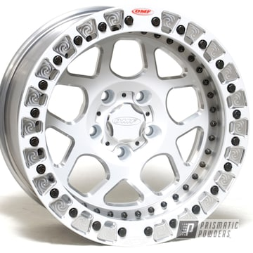 Powder Coated 17 Inch 3 Piece Wheel In Pps-2974 And Pss-5053