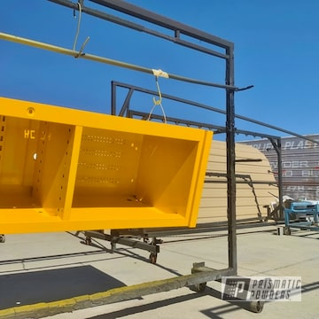 Powder Coated Yellow Tool Box In Pss-2550
