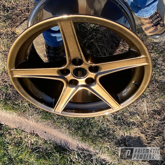 """Powder Coating: Wheels,Automotive,Clear Vision PPS-2974,18"""",Bronze Chrome PMB-4124,18"""" Wheels,Ford Mustang,Ford,Mustang"""