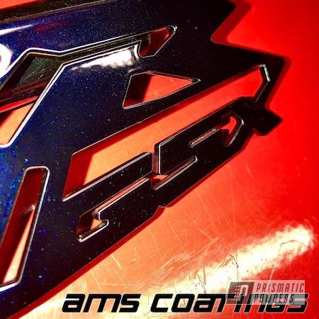 Powder Coating: Heel Guard,GSXR,Suzuki,Blue Metallic PMB-4226,Motorcycles