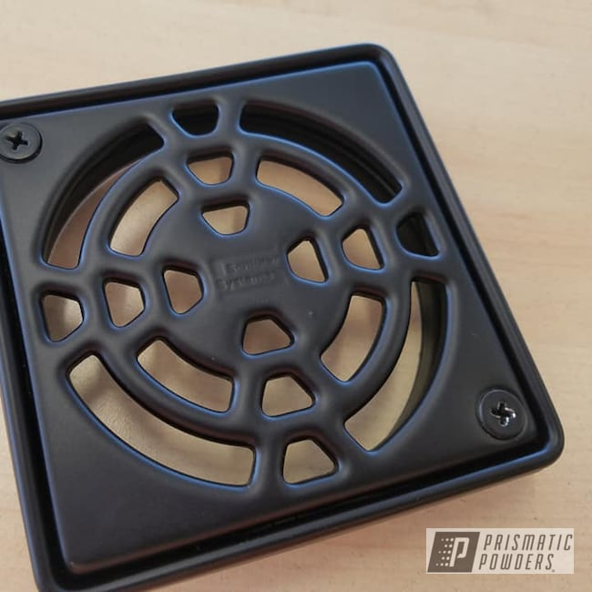 Powder Coating: BLACK JACK USS-1522,Shower Drain,Hardware,Grate,blackjack