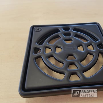 Powder Coated Black Shower Drain Grate