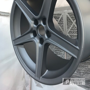 Powder Coated 18 Inch Aluminum Wheels In Uss-2603 And Pps-4005