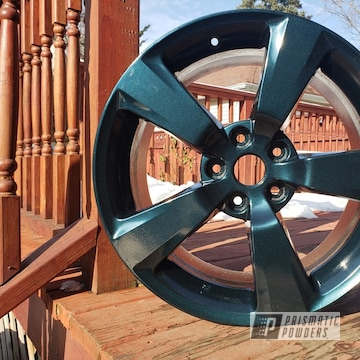 Powder Coated 18 Inch Aluminum Subaru Sti Wheels In Pmb-1602