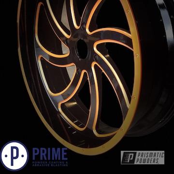 Powder Coated 22 Inch Msa Wheels M36 Switch In Pms-4620