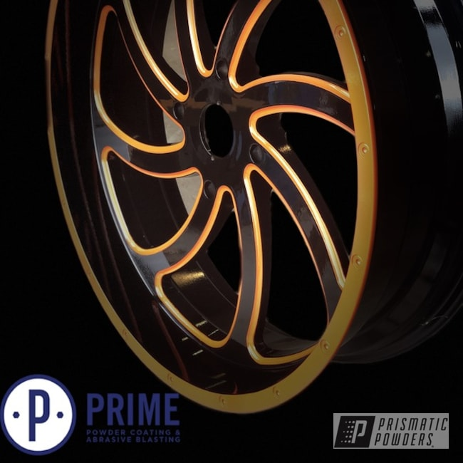 Powder Coated 22 Inch Msa Wheels M36 Switch In Pms-4620