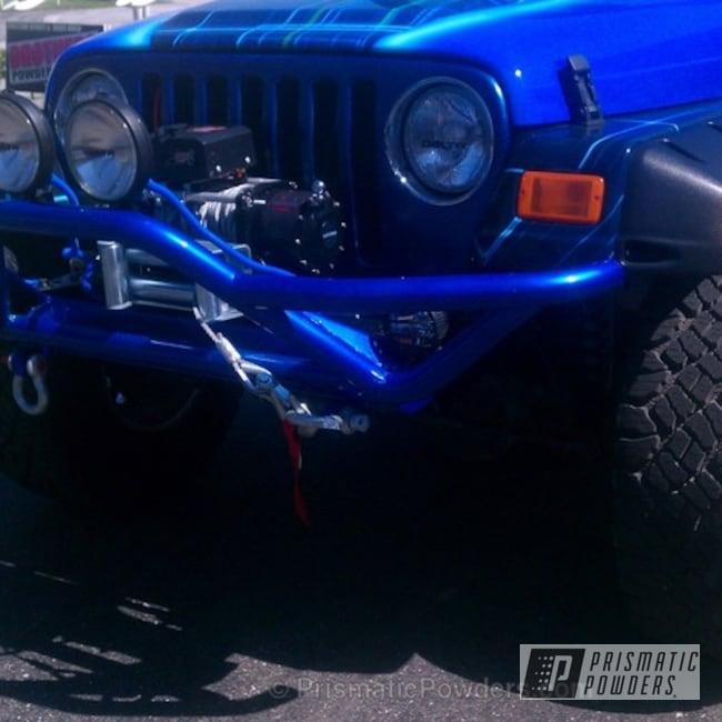Powder Coating: Wheels,Custom,JOCKEY BLUE PPB-2149,Off-Road,Blue,powder coating,powder coated,Prismatic Powders,Jeep