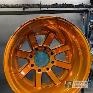 Powder Coated Custom Fuel Wheels In Pps-2291, Uss-1522 And Uss-4482