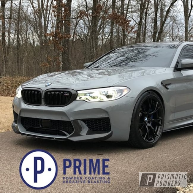Powder Coating: Wheels,Automotive,Ink Black PSS-0106,BMW,m5 wheels