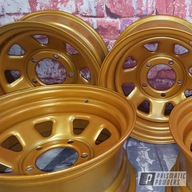 "Powder Coating: Coppersun PPB-2823,Wheels,Automotive,15"" Steel Wheels,Steel Wheels,15"" Wheels,Automotive Rims"