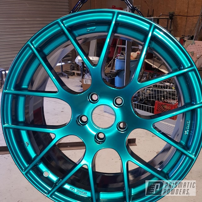 "Powder Coating: Silver Sparkle PPB-4727,Transparent Powder Coating,Transparent,20"" Wheels,HD TEAL UPB-1848,Candy"