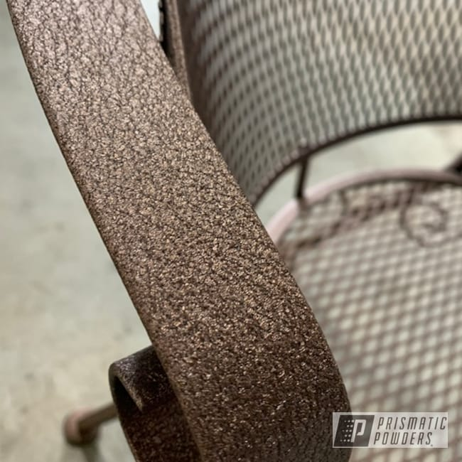 Powder Coating: Patio Chairs,Patio Funiture,Splatter Copper PWB-2878